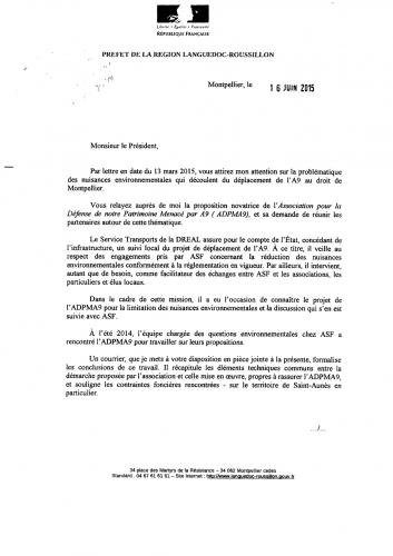lettre Mr le  Préfet à Pdt Agglomération  16-06-2015.jpg