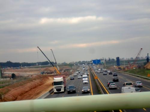 A9, autoroute A9, travaux, chantier, Vinci, ASF